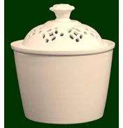 Royal Creamware Classic Pierced Sugar Cup