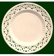 Medallion Dessert/Side Plates
