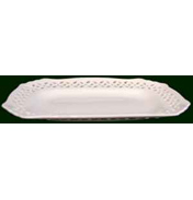 Royal Creamware Moderne Oblong Tray